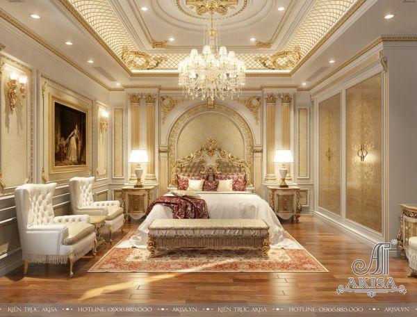 Thiết kế nội thất tân cổ điển phong cách châu Âu (CĐT: ông Long - Lào Cai) NT12057