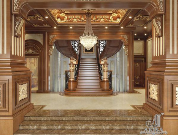 Mẫu nội thất biệt thự cổ điển đẹp đẳng cấp quý tộc NT13058