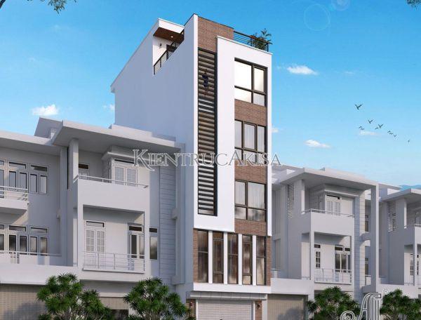 Thiết kế chung cư mini 6 tầng hiện đại (CĐT: ông Giang - Hà Nội) KT61345