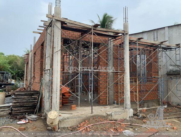 Thiết kế - Giám sát thi công biệt thự 2 tầng (CĐT: ông Tuyền - Củ Chi) TC22351
