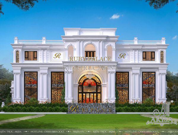 Thiết kế trung tâm tiệc cưới và tổ chức sự kiện (ông Tuấn - Thanh Hóa) KT32374