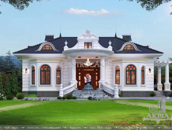 Thiết kế nhà vườn mái Nhật 1 tầng 3 phòng ngủ (CĐT: ông Sơn - Hải Phòng) BT12363