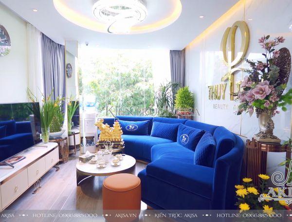 Hoàn thiện thiết kế nội thất Spa Thúy Trần tại 163 Hàng Bông (CĐT: bà Thúy - Hà Nội) TC11022