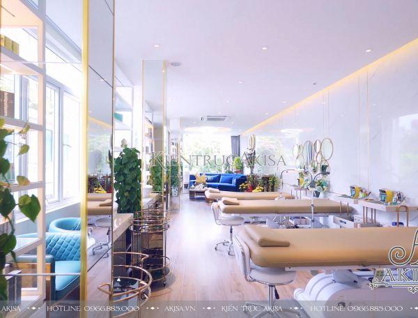 Thiết kế nội thất Spa Thúy Trần tại 163 Hàng Bông (CĐT: bà Thúy - Hà Nội) TC11022