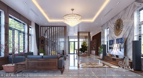 Mẫu thiết kế nội thất hiện đại đẹp (CĐT: ông Dương - Đắk Lắk) NT22355