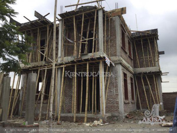 Tiến độ thi công biệt thự 3 tầng tại Thanh Hóa (CĐT: bà Hường - KĐT Đông Sơn) TC32442