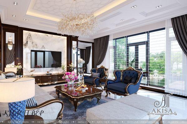 Thiết kế nội thất phong cách Art Deco (CĐT: ông Ca - Vũng Tàu) NT31414