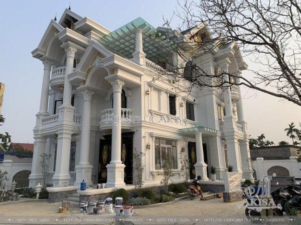 Giám sát thi công biệt thự 3 tầng tại Hải Phòng (CĐT: bà Ngân - An Dương) TC32370