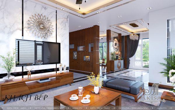 Trang trí nội thất phong cách hiện đại (CĐT: ông Long - Thanh Hóa) NT21378