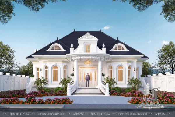 Say đắm mẫu biệt thự nhà vườn 1 tầng tân cổ điển đẹp (CĐT: ông Thắng - Đắk Lắk) BT12458