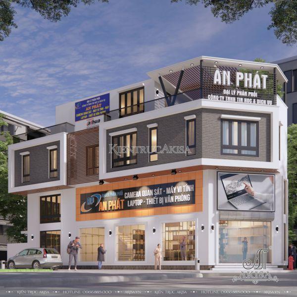 Nhà phố 5x20m 3 tầng 1 tum hiện đại (CĐT: ông Tân - Hòa Bình) KT31470