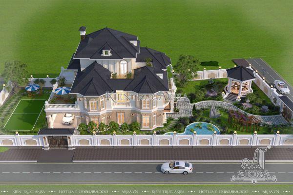 Thiết kế sân vườn châu Âu (CĐT: bà Huyền - Hải Dương) SV32261