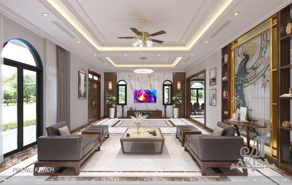 Mẫu nội thất hiện đại đẹp sang trọng (CĐT: ông Ninh - Vũng Tàu) NT12436