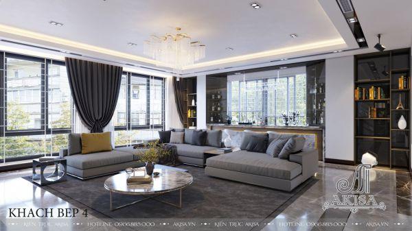 Thiết kế nội thất đẹp hiện đại (CĐT: ông Hoàng - Nghệ An) NT62031