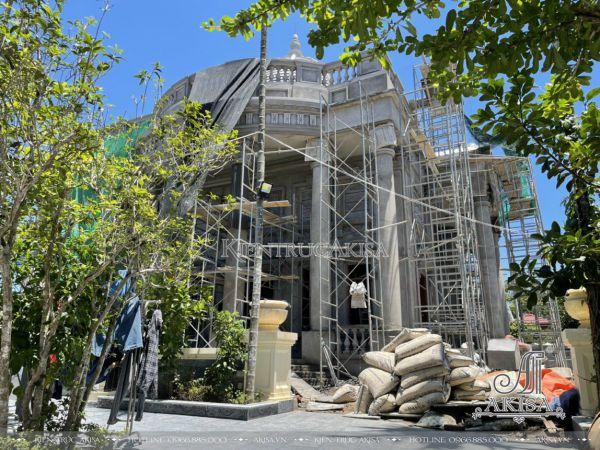 Hình ảnh thi công biệt thự 2 tầng tại Ứng Hòa (CĐT: ông Hiếu - Hà Nội) TC22406