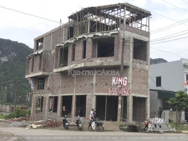 Giám sát thi công nhà phố hiện đại 3 tầng (CĐT: ông Tân - Hòa Bình) TC31470