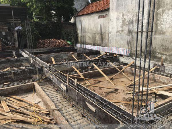 Giám sát thi công biệt thự tân cổ điển tại Hà Nội (CĐT: ông Trường - Hoài Đức) TC22531