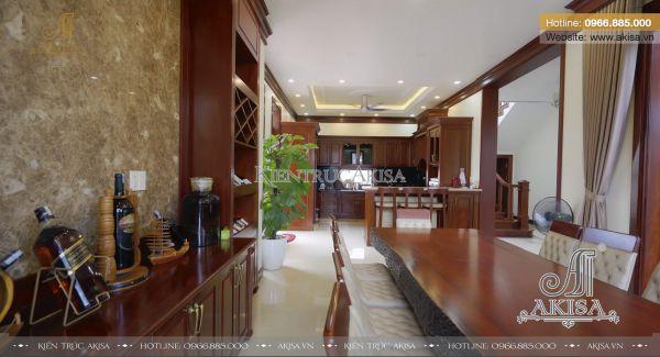 Hoàn thiện nội thất biệt thự hiện đại 2 tầng tại Hưng Yên TC21048-NT