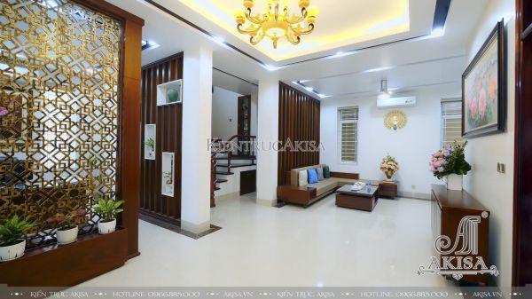 Hình ảnh hoàn thiện nội thất biệt thự 4 tầng (CĐT: ông Hậu - Hà Nội) TC42022-NT
