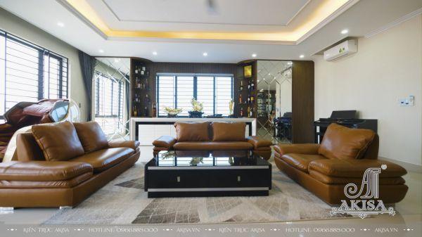 Hoàn thiện nội thất nhà phố phong cách hiện đại (CĐT: ông Hoàng - Nghệ An) TC62031-NT