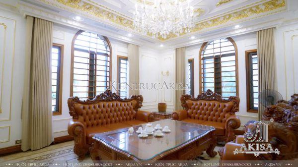 Hình ảnh hoàn thiện nội thất biệt thự tại Nghệ An TC32060-NT