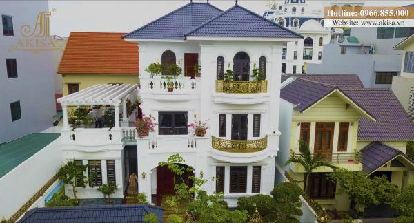 Hình ảnh hoàn thiện thi công biệt thự 3 tầng (CĐT: bà Cầm - Quảng Ninh) TC32072