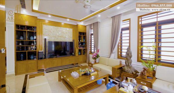Cập nhật hình ảnh hoàn thiện nội thất biệt thự 3 tầng (CĐT: bà Cầm - Quảng Ninh) TC32072-NT