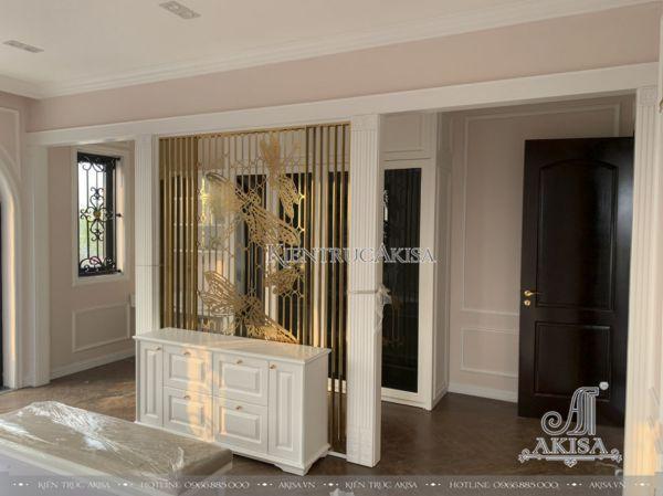 Hình ảnh thi công nội thất biệt thự tân cổ điển (CĐT: bà Ngân - Hải Phòng) TC32370-NT