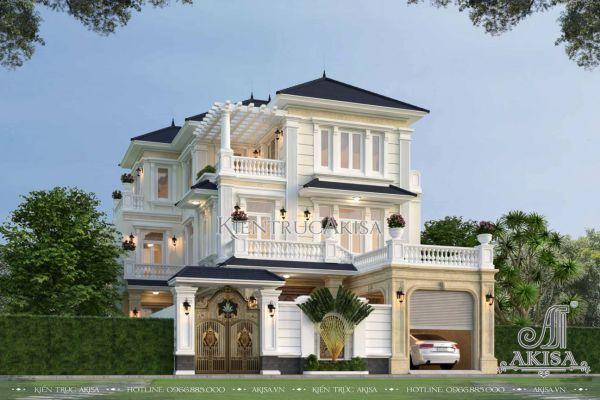 Biệt thự 3 tầng 5 phòng ngủ 12m mặt tiền (CĐT: ông Hiền - Ninh Bình) BT32580