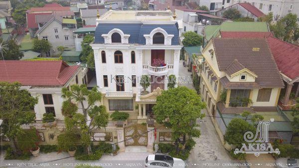 Thi công biệt thự tân cổ điển ở Nghệ An (CĐT: Ông Sơn – Nghệ An) TC32063