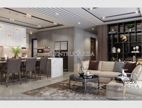 Thiết kế nội thất căn hộ chung cư cao cấp Park Hill (CĐT: bà Mai - Hà Nội) NT21013