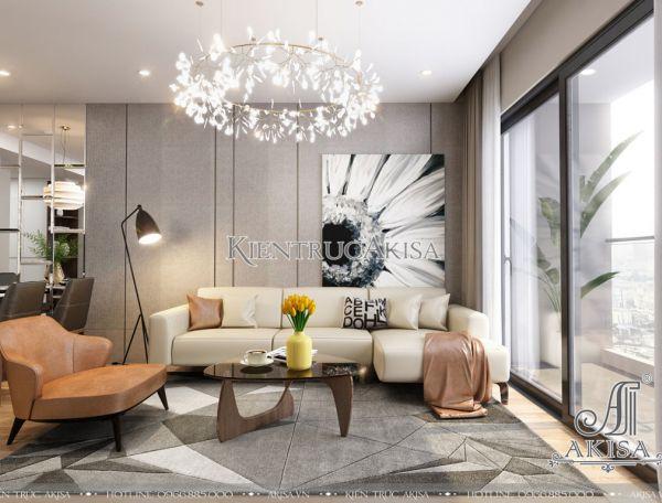 Mẫu nội thất căn hộ chung cư Rivera Park đẹp (CĐT: ông Viêt - Hà Nội) NT21040