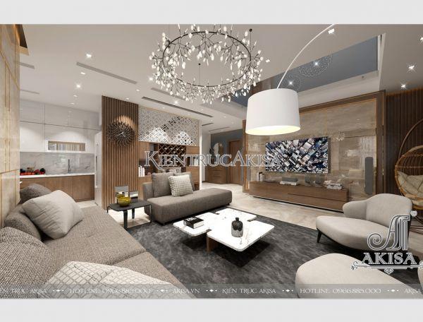 Ngắm nhìn nội thất chung cư hiện đại đẹp sang trọng (CĐt: ông Hùng - Nghệ An) NT21001