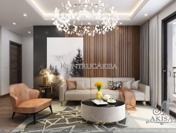 Mẫu nội thất chung cư phong cách hiện đại (CĐT: ông Hà - TP Hồ Chí Minh) NT21017