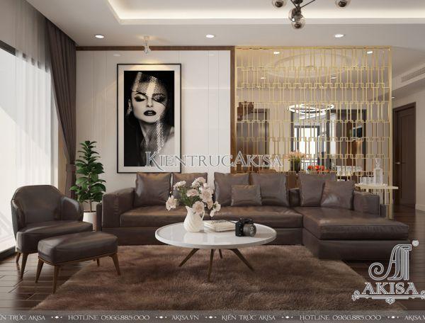 Thiết kế nội thất chung cư hiện đại tại 229 phố Vọng (CĐT: ông Chính Anh - Hà Nội) NT21045