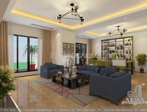 Mẫu nội thất chung cư Royal City hiện đại (CĐT: bà Trang - Hà Nội) NT21048