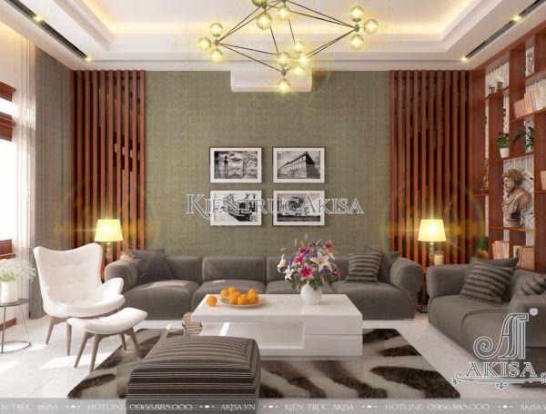 Mẫu nội thất nhà phố hiện đại đẹp tinh tế ấn tượng (CĐT: ông Hoàn - Vĩnh Phúc) NT11026