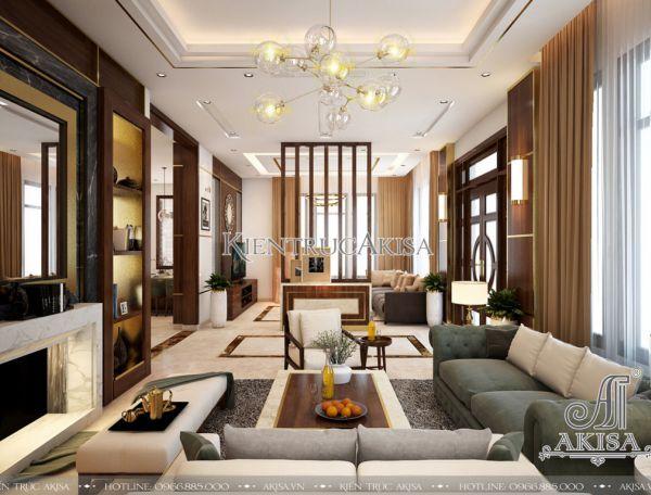 Không gian nội thất biệt thự hiện đại cao cấp (CĐT: bà Yến - Khánh Hòa) NT11032