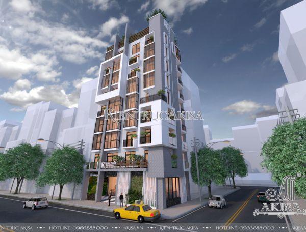 Thiết kế chung cư mini hiện đại (CĐT: bà Phương Anh - TP Hồ Chí Minh) KT91087