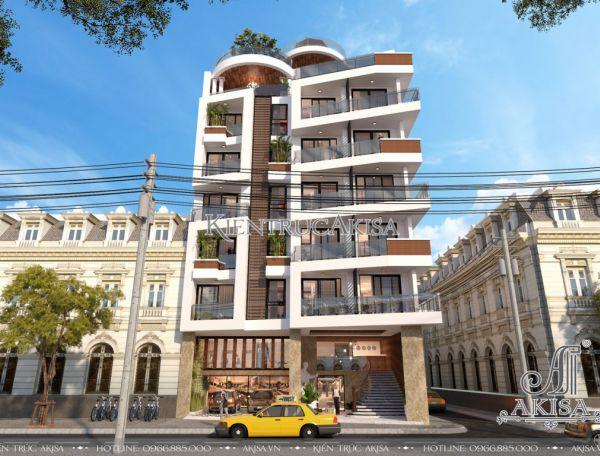 Thiết kế khách sạn hiện đại đẹp (CĐT: bà Ngân - Nha Trang) KT81127
