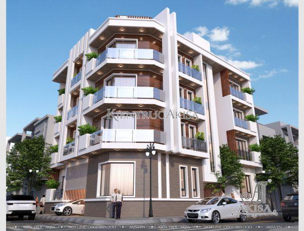 Thiết kế khách sạn hiện đại 5 tầng đẳng cấp 3 sao (CĐT: ông Chương - Hà Nam) KT41220