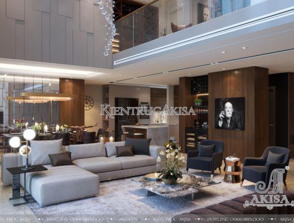 Thiết kế nội thất căn hộ hiện đại Duplex Mandarin 2 (CĐT: ông Trường - Hà Nội) NT21035