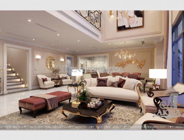 Thiết kế nội thất chung cư hiện đại Duplex Mandarin (CĐT: ông Quang - Hà Nội) NT21014