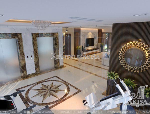 Mẫu nội thất căn hộ Penthouse sang trọng (CĐT: ông Chín - Nghệ An) NT21036