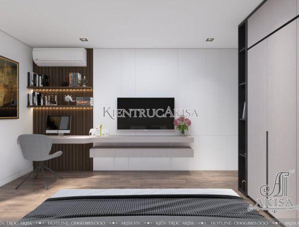 Thiết kế nội thất chung cư 3 phòng ngủ (CĐT: bà Trang - Hà Nội) NT21054