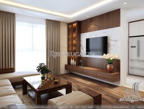 Mẫu nội thất chung cư Homeland hiện đại tinh tế (CĐT: bà Kim Anh - Hà Nội) NT21051