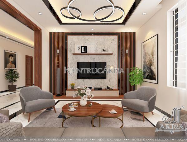 Thi công và thiết kế nội thất hiện đại đẹp (CĐT: ông Hiếu - Nghệ An) NT11025