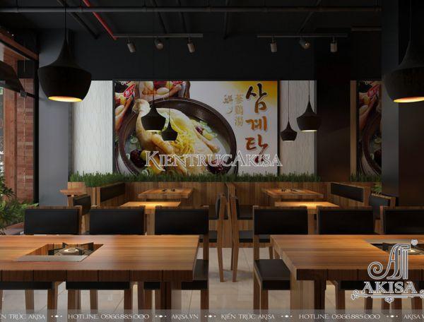Akisa thiết kế nội thất nhà hàng hiện đại tại Hà Nội (CĐT: bà Tâm - Hà Nội) NT31050