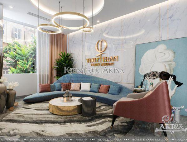 Thiết kế nội thất spa phong cách hiện đại (CĐT: bà Thúy - Hà Nội) NT11022