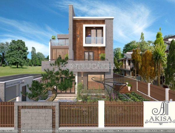 Biệt thự hiện đại 3 tầng thiết kế ấn tượng (CĐT: ông Hưng - Quảng Trị) BT31190